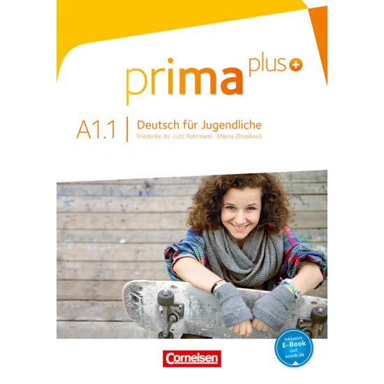 PRIMA PLUS A1.1 JUGENDLICHE (KURSBUCH) +EBOOK