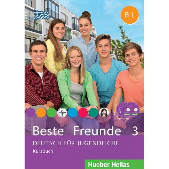 BESTE FREUNDE 3 KURSBUCH (+CD)