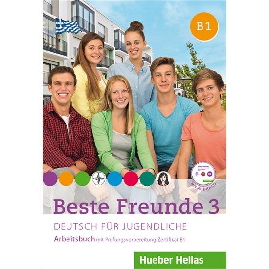 BESTE FREUNDE 3 ARBEITSBUCH (+AUDIOCD)