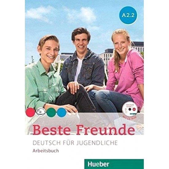 BESTE FREUNDE A2.2 ARBEITSBUCH M. CD-ROM