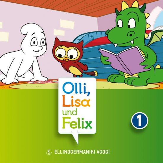 OLLI, LISA UND FELIX SPIELEN CD