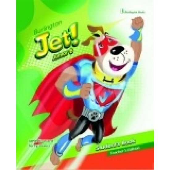 Jet Junior B students book with my first words booklet