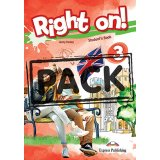 Right on 3 Power Pack (Student's book, Grammar book in English Edition, Companion, Workbook)