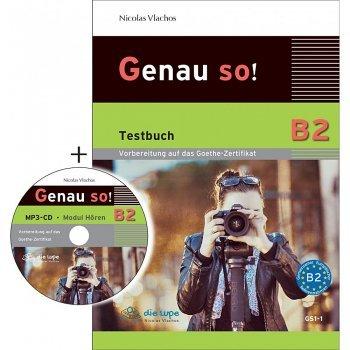 GENAU SO! B2 TESTBUCH (CD AUDIO MP3)