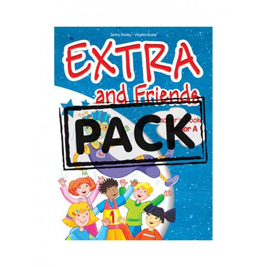 Extra and Friends Junior A Pupil's Pach with ieBook