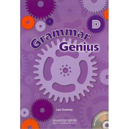 GRAMMAR GENIUS D STUDENT'S BOOK WITH CD-ROM