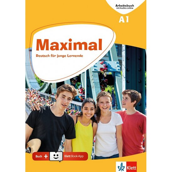 MAXIMAL A1 ARBEITSBUCH MIT AUDIOS ONLINE + Book App