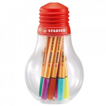 Μαρκαδόροι Stabilo 88 mini 12 τεμ Bulb