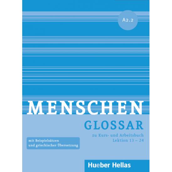MENSCHEN A2.2 GLOSSAR