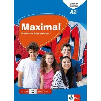 Maximal A2 Kursbuch (+Audio & Video Online, + Klett book)