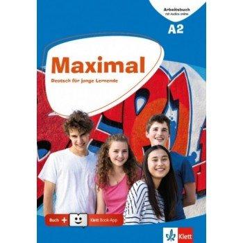 Maximal A2 Arbeitsbuch (+Audio Online + Klett book app)